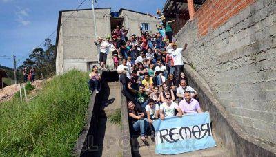 Olavarría presente en Río de Janeiro