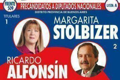 Las cinco listas del Frente Progresista de San Martín tienen por ahora el enganche nacional