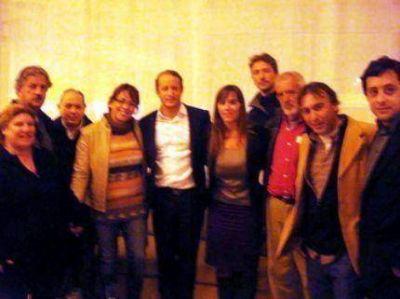 Carina Ponce y sus candidatos se reunieron con Martín Insaurralde