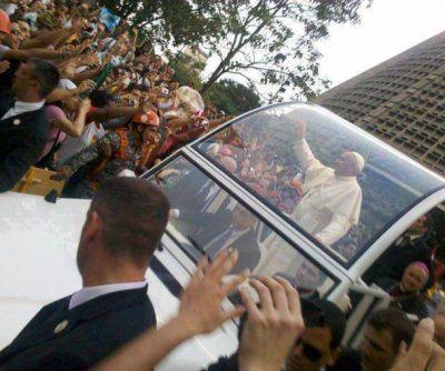Los marplatenses exultantes con la Franciscomanía en Río