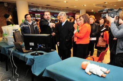 Presentaron un sistema de traslado pediátrico para la provincia único en el país