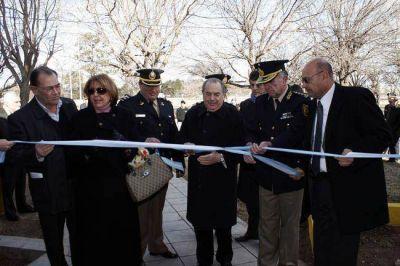 Inauguraron planta de biodiesel y comisaría en General Pico