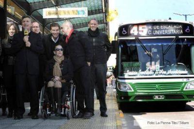 """Macri inauguró el Metrobus y lo calificó como una """"transformación histórica"""" para la Ciudad"""