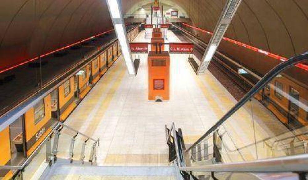 Más cruces por las estaciones nuevas de la línea B del subte