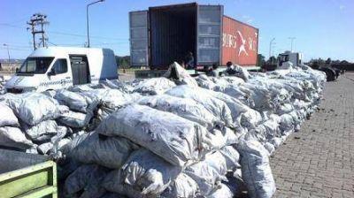 Cada semana se envia carbón a Israel desde el Puerto de Formosa