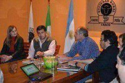 Producción y Sociedad Rural analizaron en Sáenz Peña los alcances del PRODAF