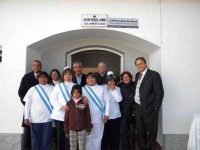 El Centro de Salud de Ciudad de Nieva a nuevo