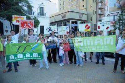 A.M.A.M. pide que la provincia se adhiera a la legislación nacional
