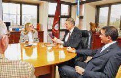Los Ministros Loutaif y Ovejero recibieron a la Embajadora de Israel en Argentina