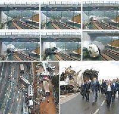 El tren español iba a más del doble de la velocidad permitida