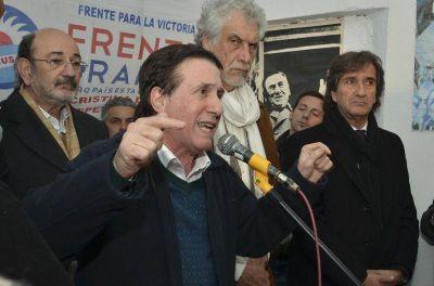 Darío Díaz Pérez inauguró una nueva casa partidaria en Escalada