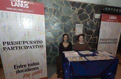 Lanús: nuevos proyectos de obra del Presupuesto Participativo 2013