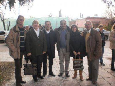 Los candidatos locales con Margarita Stolbizer
