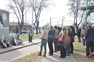 El municipio homenajeó a Eva Perón
