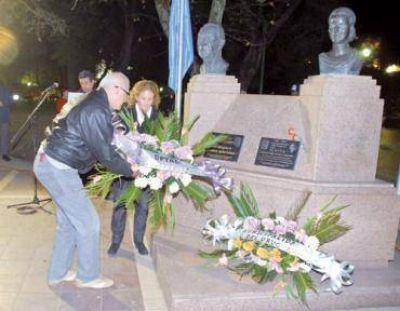 El peronismo evocó la figura de Eva Perón