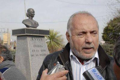 Regueiro rindió homenaje a Eva Perón