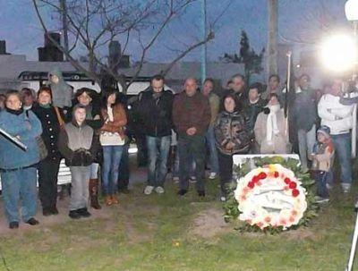 Homenaje a Eva Perón a 61 años de su fallecimiento