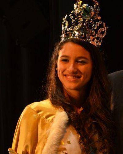 Aldana Morales es la Reina del Sesquicentenario