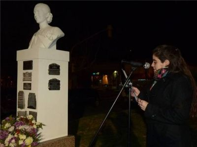 El peronismo local recordó a Eva Duarte de Perón
