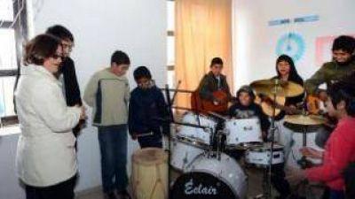 Corpacci inauguró un Centro de Promoción de Derechos de Infancia y adolescencia