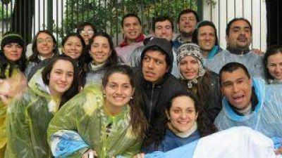 Jóvenes catamarqueños, en el Vía Crucis con el Papa Francisco en Río de Janeiro