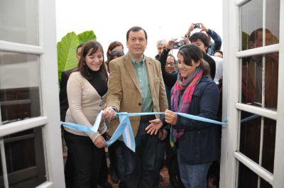 """El Gobernador Zamora participó de la inauguración de la Mutual """"Nunca Menos"""""""