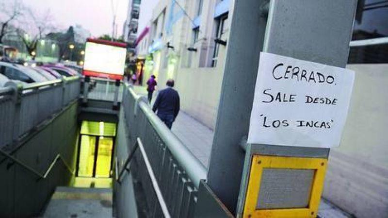 Con las nuevas estaciones del subte B cerradas, la Ciudad cita a los metrodelegados
