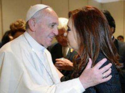 La Presidente también le tenía preparado un regalo al papa Francisco