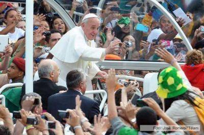 """Francisco se despidió de Brasil luego de vivir una """"semana inolvidable"""""""