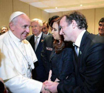 A través de Twitter, Cristina Kirchner comentó su encuentro con el Papa