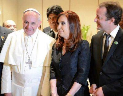 Insaurralde, feliz y agradecido por la reunión con el Papa