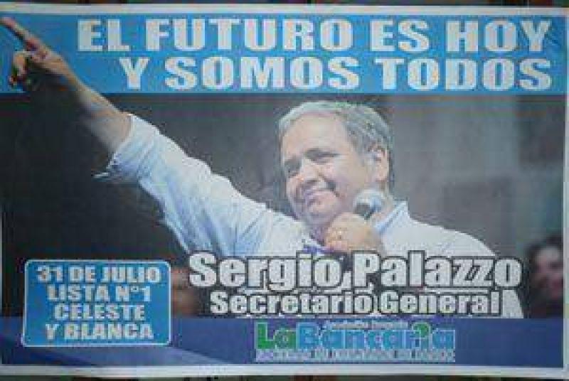 La seccional Mar del Plata de La Bancaria apoya la lista de Sergio Palazzo