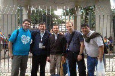 Peregrinos marplatenses felices y emocionados al finalizar la JMJ en Río
