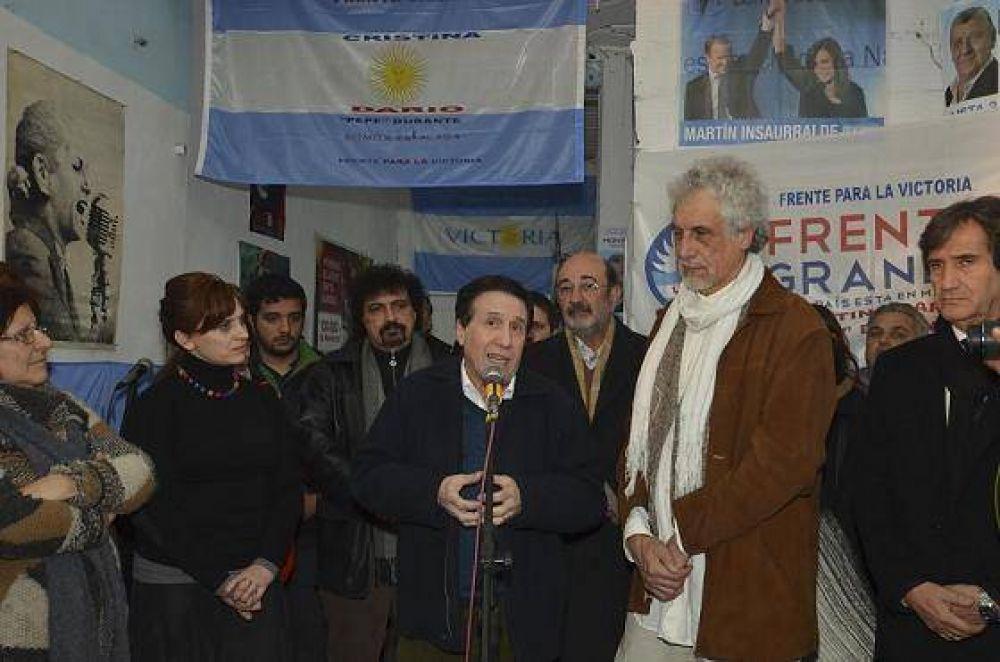 EL FRENTE GRANDE DE LANUS CON DIAZ PEREZ