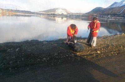 Siguen las tareas de mantenimiento invernal en la pasarela Fique