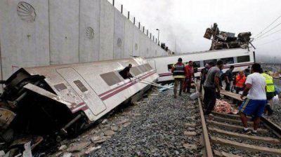 El maquinista del tren que descarriló en España quedó libre