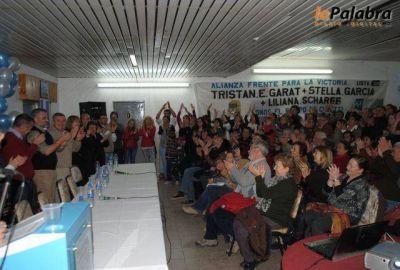 El Frente para la Victoria presentó sus candidatos en Villalonga
