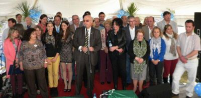 Con más de 2000 personas se realizó el almuerzo por el Sesquicentenario de Saladillo
