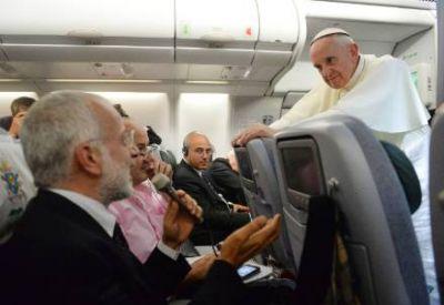 """Francisco mostró un costado íntimo y divertido: """"Me gusta ser Papa"""""""