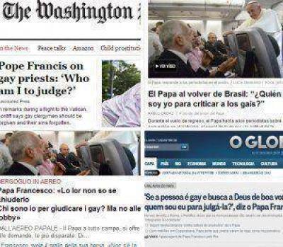 La repercusión de las frases del Papa a favor de la comunidad homosexual