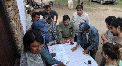 Continúa relevamiento de tierras de comunidades originarias