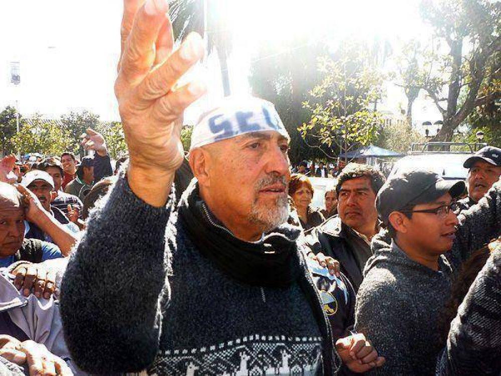 Santillán asumió la conducción del SEOM en la Plaza Belgrano