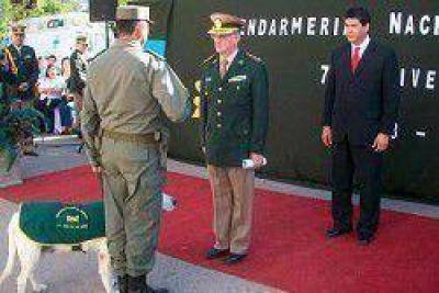 Verbeek participó de los actos por el 75 aniversario de Gendarmería en Corrientes