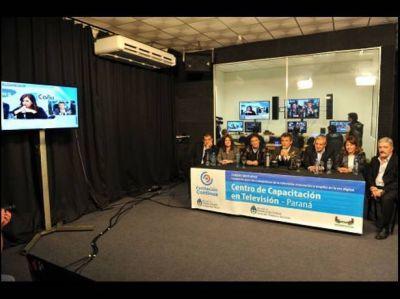 Se puso en marcha en Entre Ríos un centro de capacitación en televisión