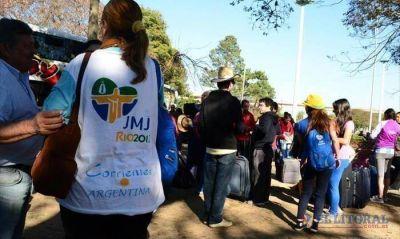 Dispuestos a difundir el mensaje del Papa, llegaron los correntinos de la JMJ