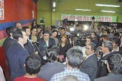 """Zamora pidió trabajar por """"la idea política de una provincia mejor"""""""