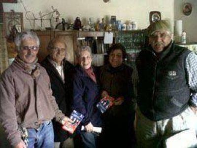 Candidatos de la UCPP en recorrida por los pueblos