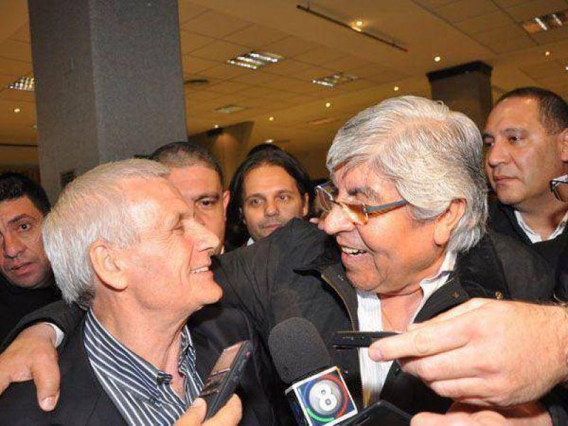 """Moyano y una CGT unida: """"Despu�s de las elecciones se profundizar� el di�logo"""""""
