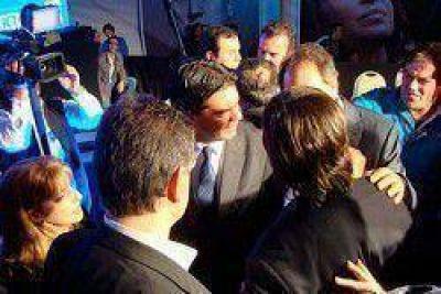 Capitanich participó del apoyo de gobernadores e intendentes a Cristina Kirchner