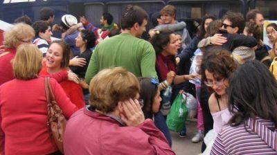 """Los chicos que fueron a ver al Papa volvieron con ganas de hacer """"lío"""""""